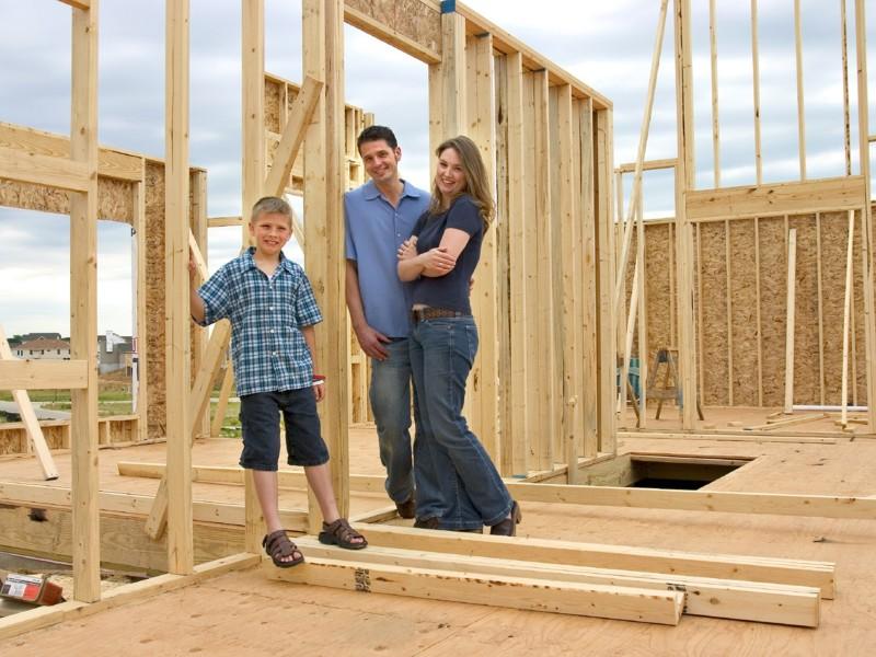 Поэтапное строительство дома видео
